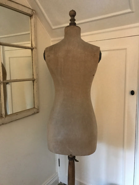 Original Antique French Stockman Mannequin