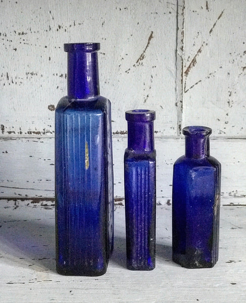 Early 19th century Tincture Bottles an
