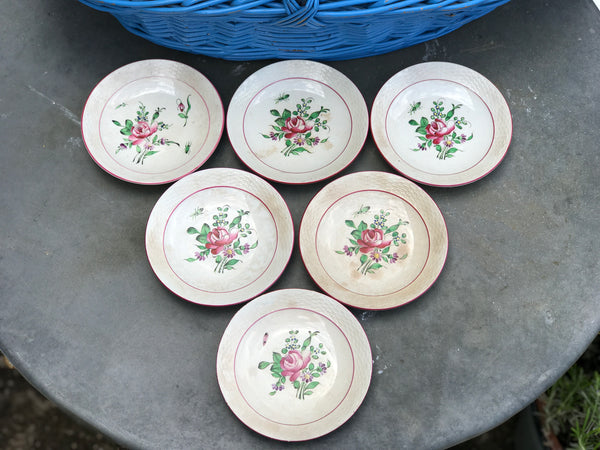Late 19th century French plates Amuse Bouche plates.