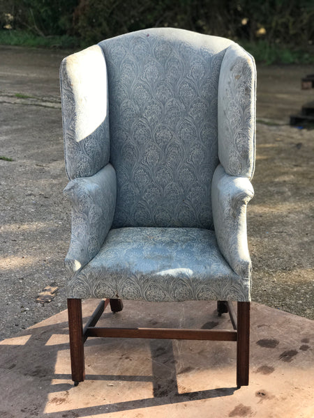 19th century Ladies Wing Fireside armchair
