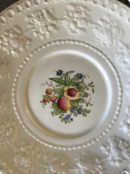 Early 20th century Wedgwood Soup Bowl And Saucer
