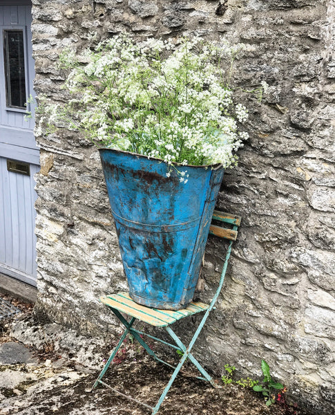 Early 20th century French Grape Hopper in original paint