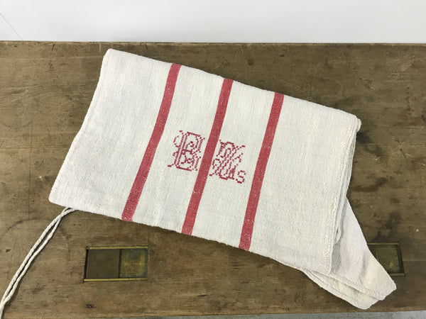 Antique Linen Grain Sack