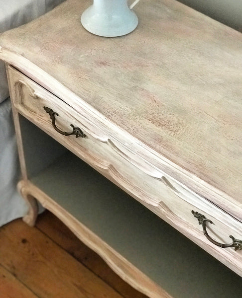 Pair of early 20th century French bedside chests.