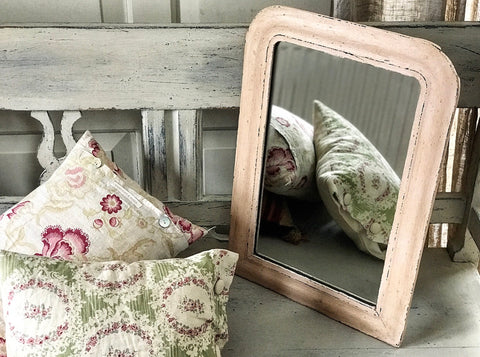 19th century French Louis Philippe mirror.