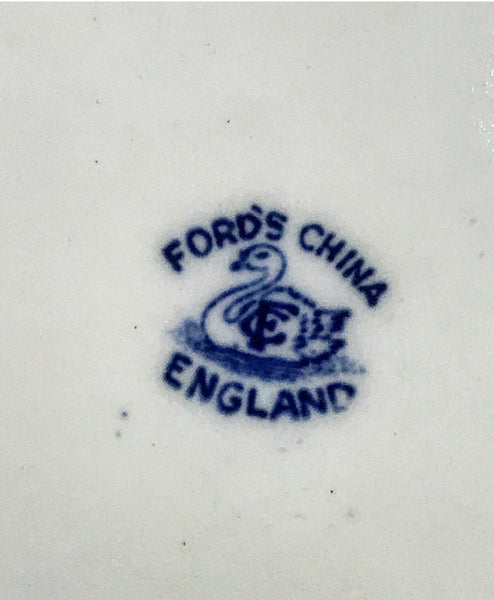 1900's Ford's China side plates.