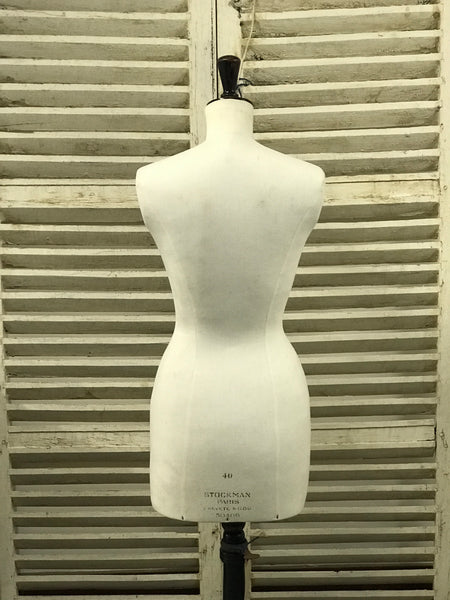 Original mid 20th century Stockman mannequin.