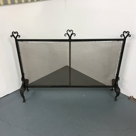 Early 19th century Wrought Iron Inglenook Fireguard