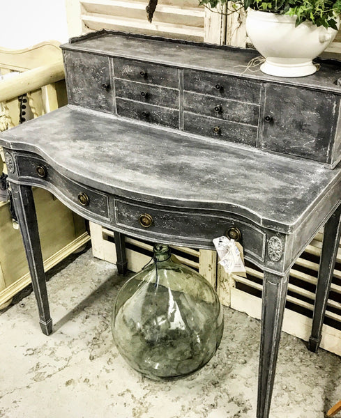 Early 20th century Bonheur du Jour bureau writing desk.