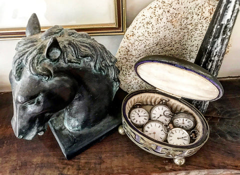 Early 20th century Silver Plated Jewellery and Hat Pin Box