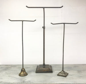 Turn of the century Gentlemen Outfitters tie stand.