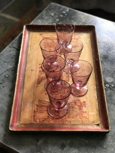 Early 20th century French glasses