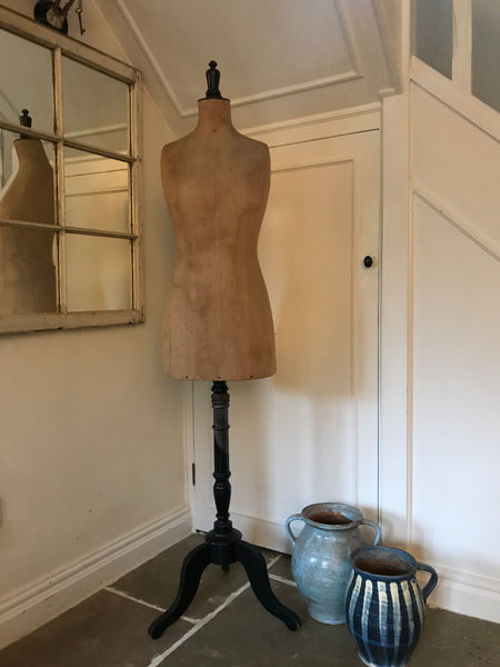 Original Early 20th century French Couturier Mannequin