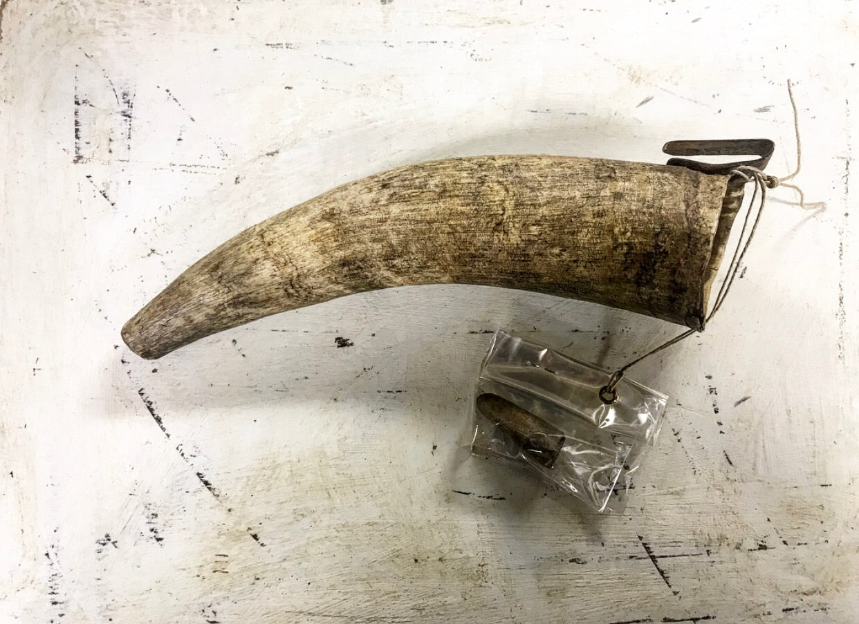 18th century Sharpening Horn