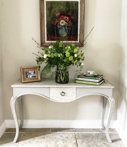 French Oak Console Table