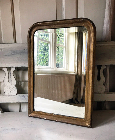 19th century French Gilt-wood Mirror