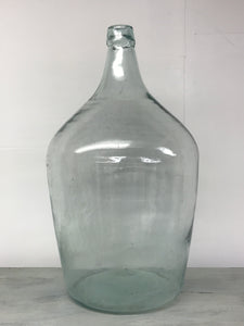 Mid 20th century handmade bottle Demi John.