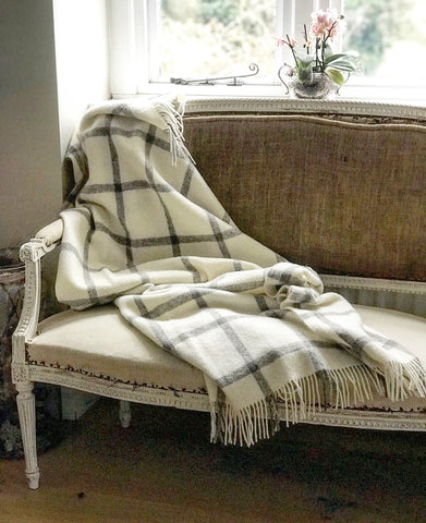 Bronte Pure Wool Blanket