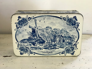 Vintage Dutch Confectioners Tin