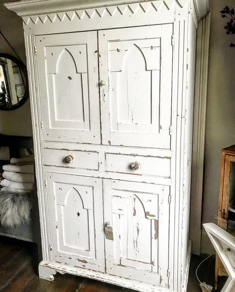 Early 19th century French Housekeeper's Cupboard.