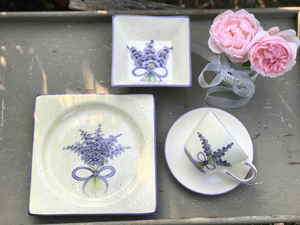 Handmade Provencal Breakfast Set