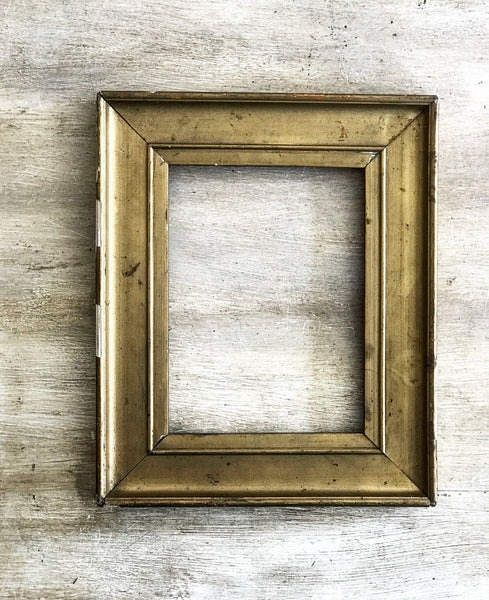 Early 20th century French gilt wood frame.