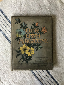 Early 20th century Journal.