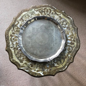Turn of 20th century Mappin & Webb Silver plated Tray.