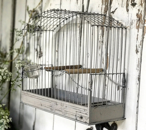 1920's Belgian Canary travel Cage