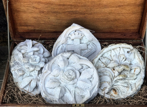 Old Plaster Cast of Passion Flower
