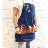 Barber Pro Waxed Canvas Apron