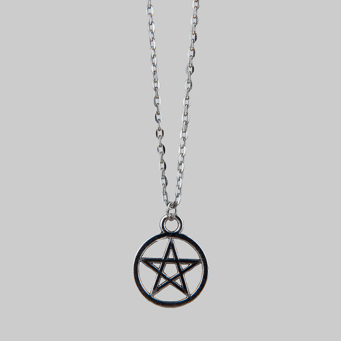 PENTAGRAM | Silver Necklace