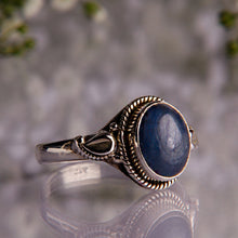 ADENA | Silver Kyanite Ring