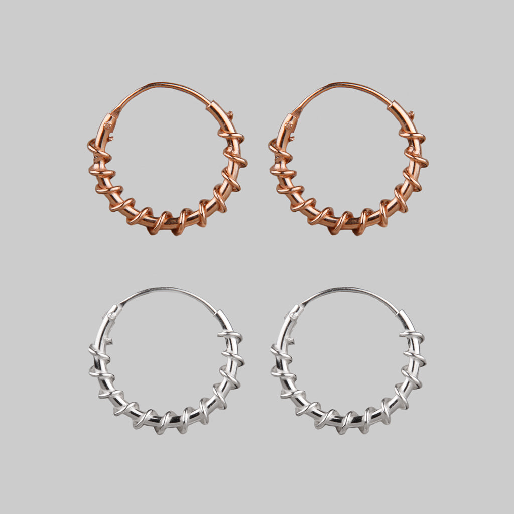 ENTWINE | Twisted Hoops
