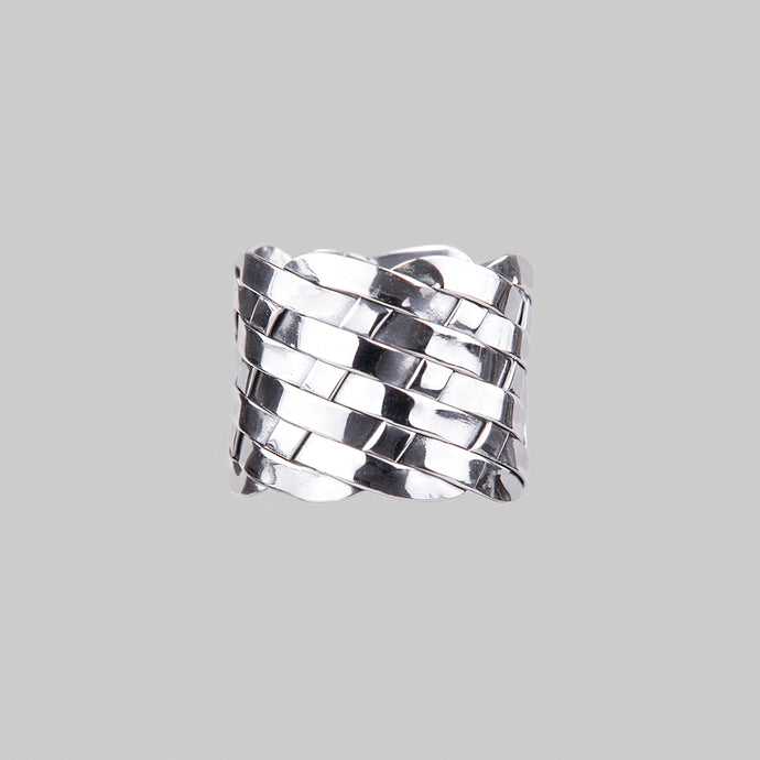 SACRED | Silver Woven Ring