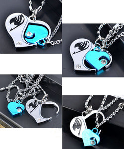 2 in 1 Fairy Tail Metal Cosplay Necklace