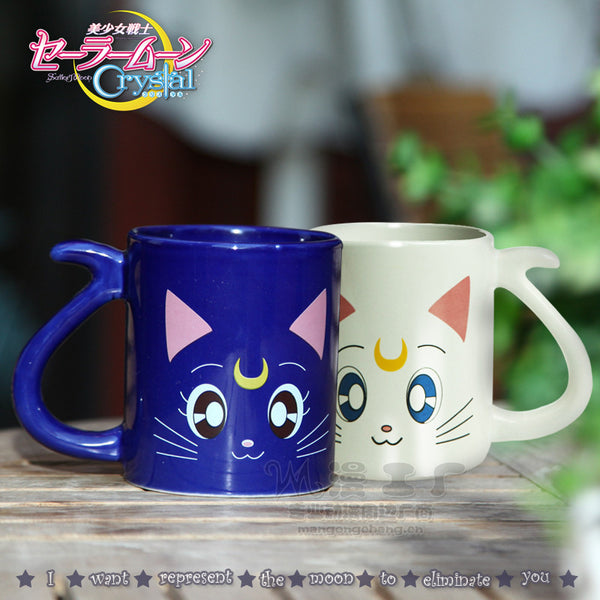 Sailor Moon Crystal 20th Anniversary Cat Mug Cups