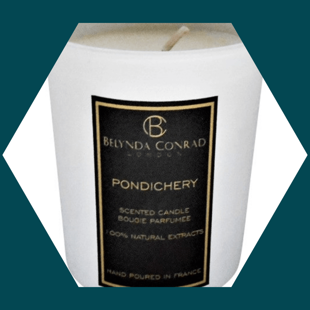 PONDECHERRY LUXURY NATURAL SOY WAX CANDLE