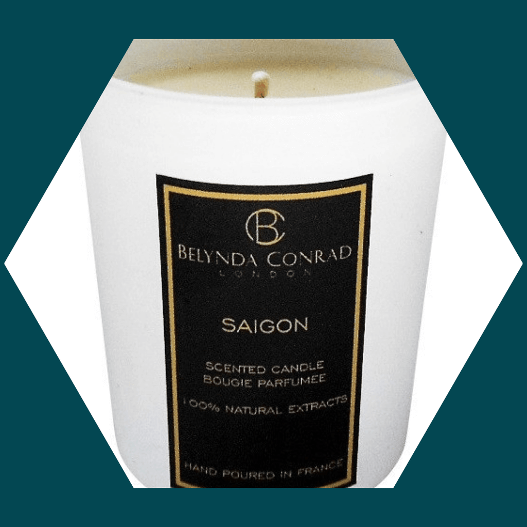 SAIGON LUXURY SCENTED CANDLE NATURAL SOY WAX