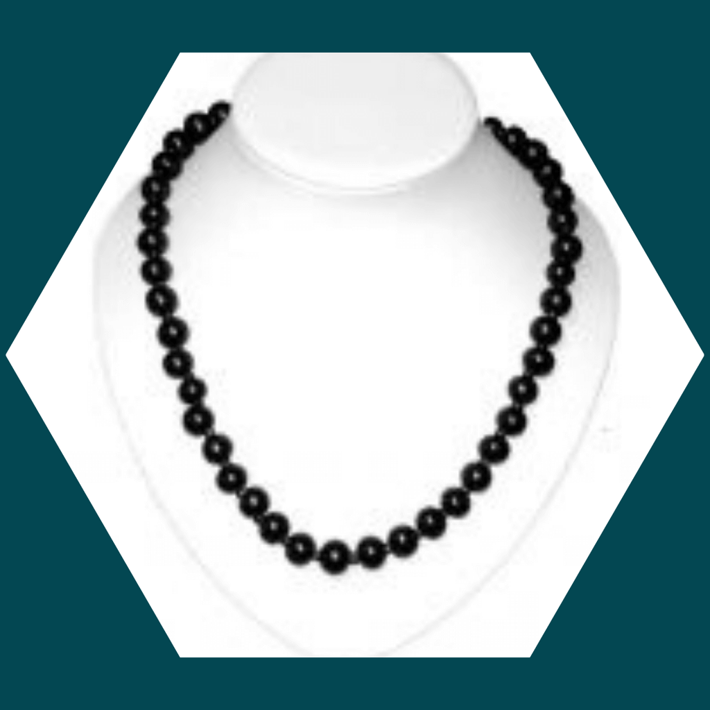 SHUNGITE NECKLACE SILVER