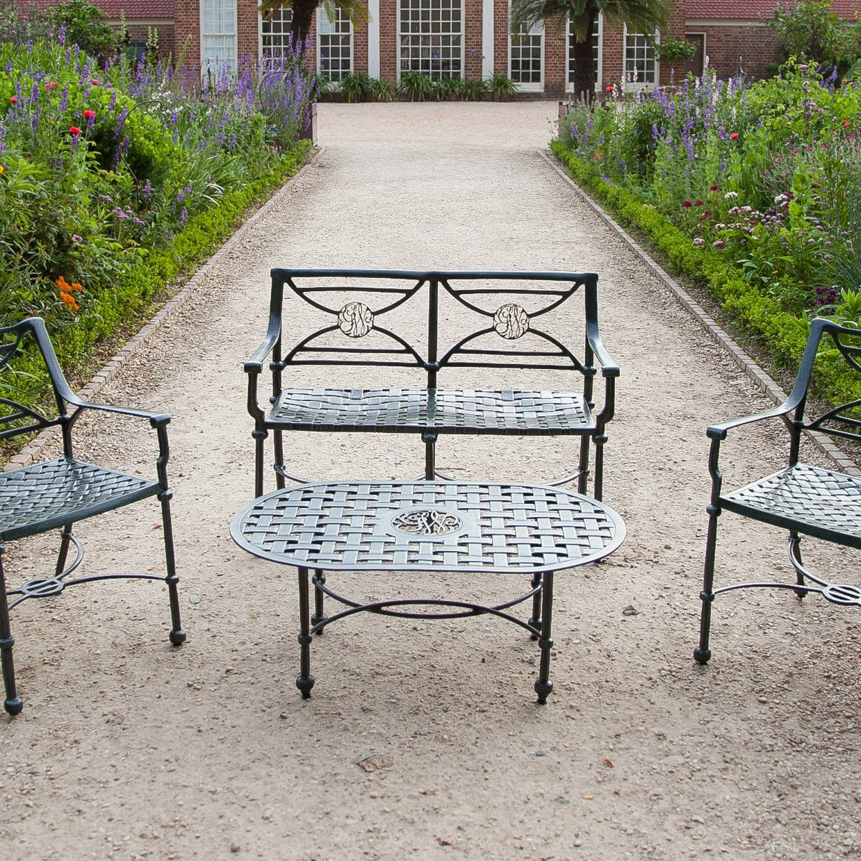 George Washington Cypher Garden Furniture