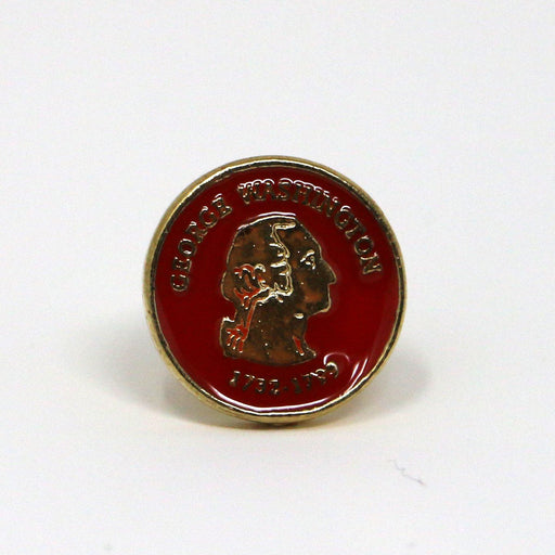 George Washington Reading Pin - SUPERB CASE - The Shops at Mount Vernon