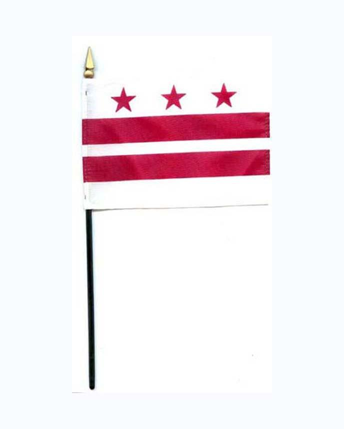 Washington District of Columbia Mini Flag - The Shops at Mount Vernon - The Shops at Mount Vernon