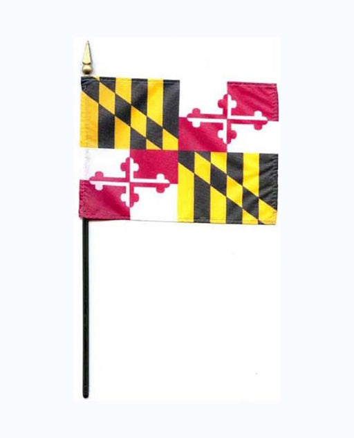 Maryland State Mini Flag - The Shops at Mount Vernon - The Shops at Mount Vernon