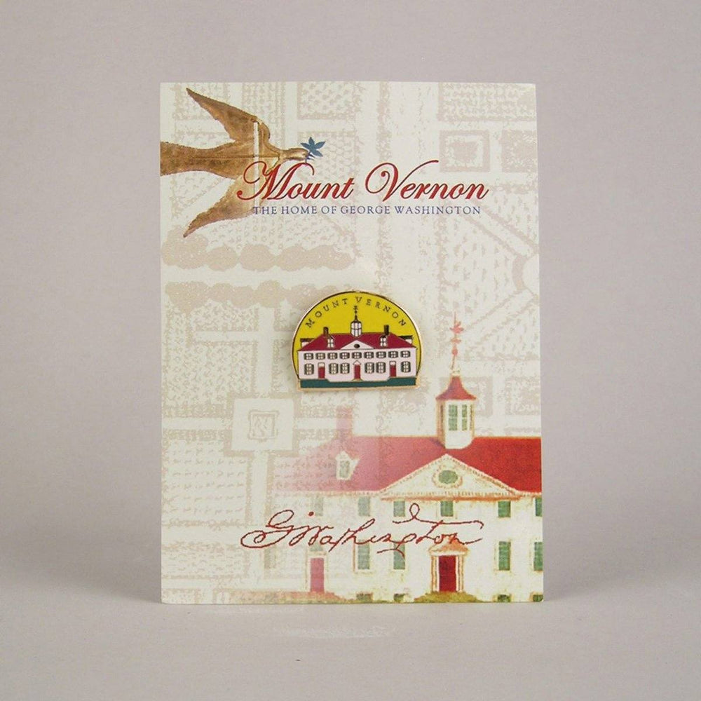 Mount Vernon West Front Lapel Pin - The Shops at Mount Vernon - The Shops at Mount Vernon