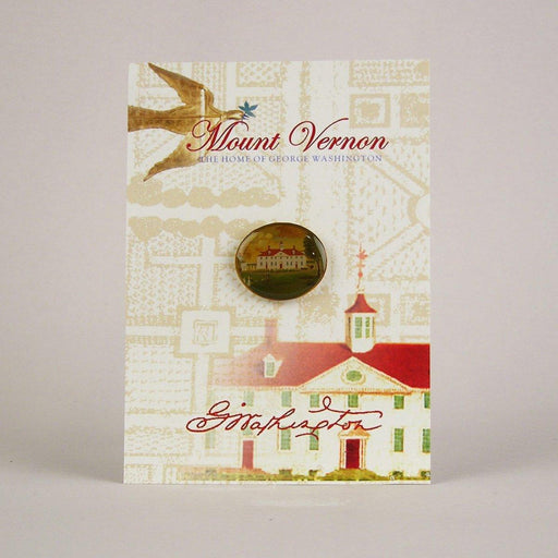 Mount Vernon 1792 Oval Lapel Pin - The Shops at Mount Vernon - The Shops at Mount Vernon