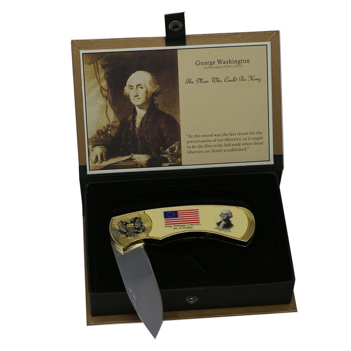George Washington Boxed Knife Set - COLLECTORS ARMOURY LTD - The Shops at Mount Vernon