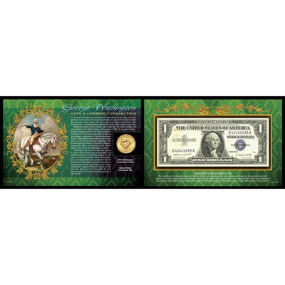 George Washington's Coin & Currency
