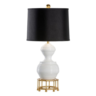 Mount Vernon Bee Skep Lamp