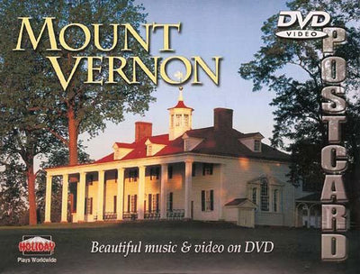 Mount Vernon DVD Video Postcard